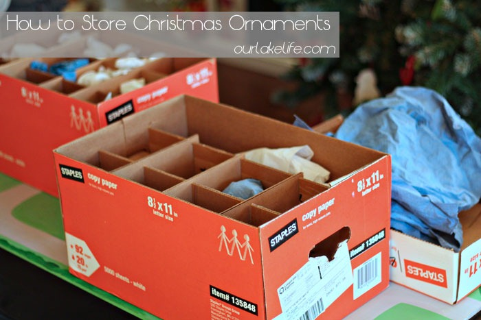 Our Lake LifeHow to Store Christmas Ornaments - Our Lake Life - how to store christmas decorations