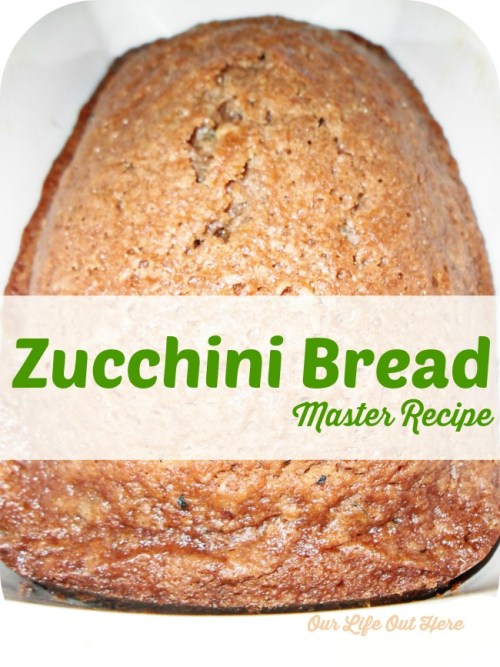 This basic zucchini bread recipe is sure to have your family asking for more! #zucchini #cookingfromthegarden