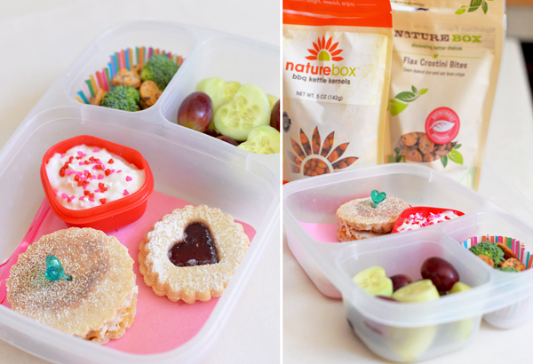 naturebox heart lunch
