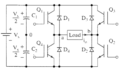 diagram single phase inverter