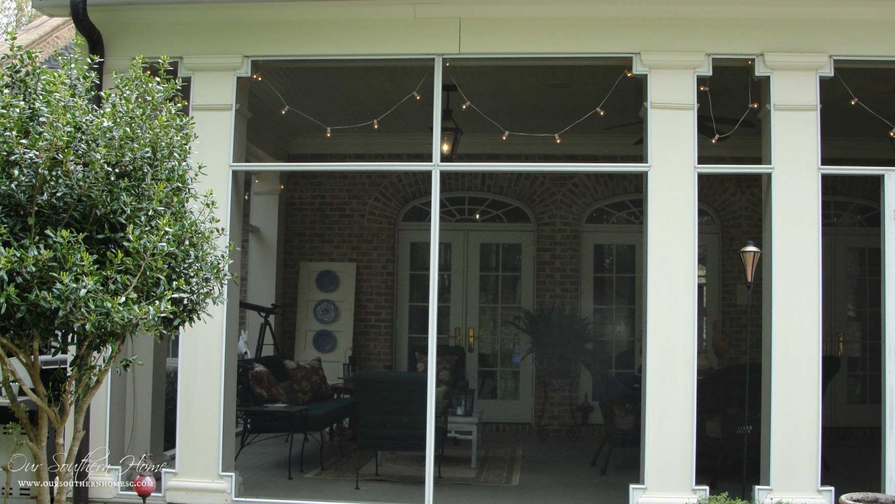 southern screened porch