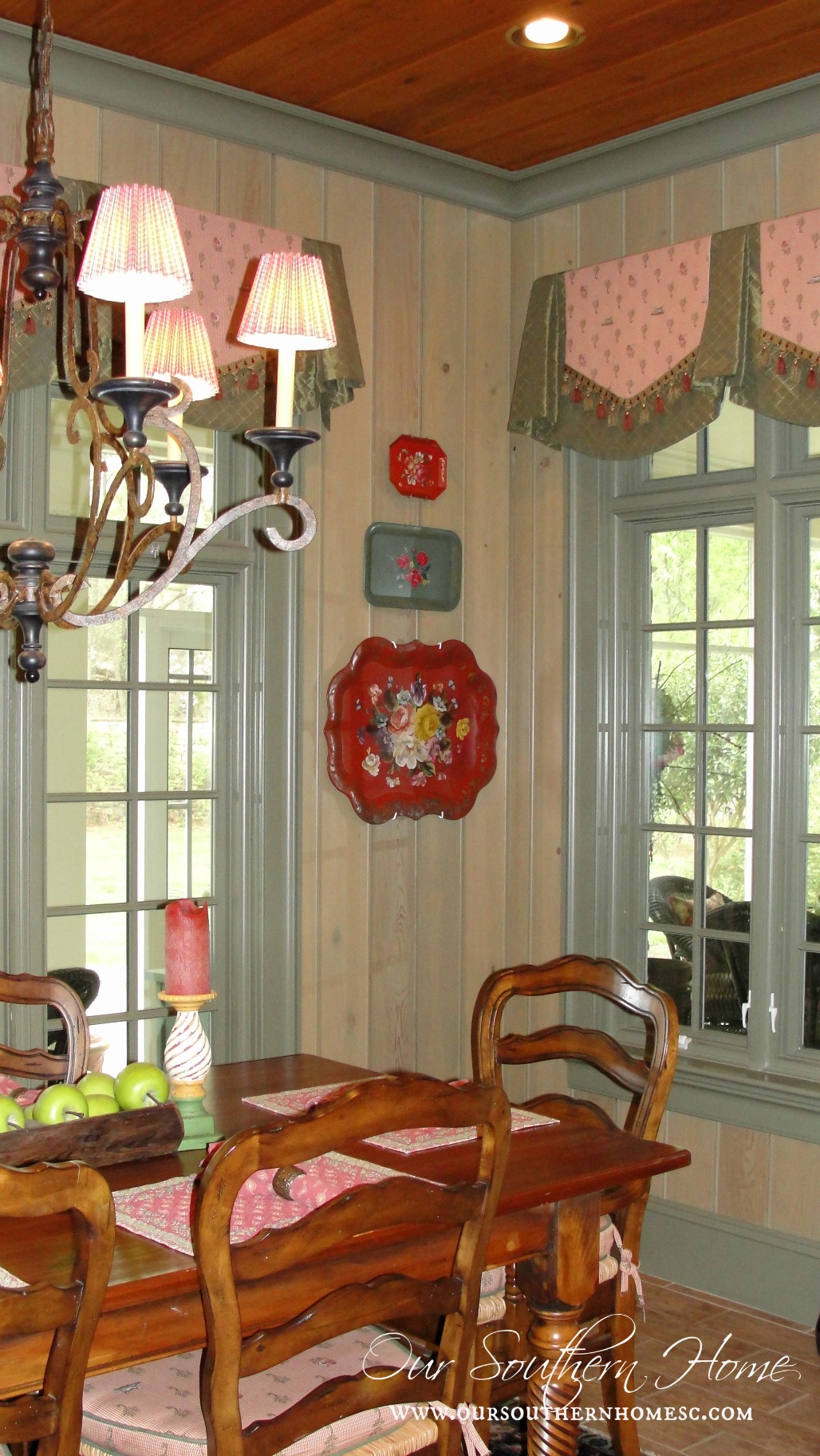 French country kitchen tour our southern home for Southern country home decor
