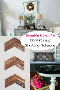 Ideas For Creating An Inviting Entry