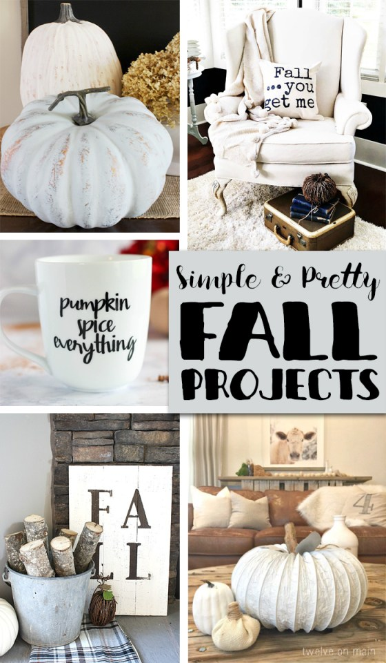 Simple Fall Projects