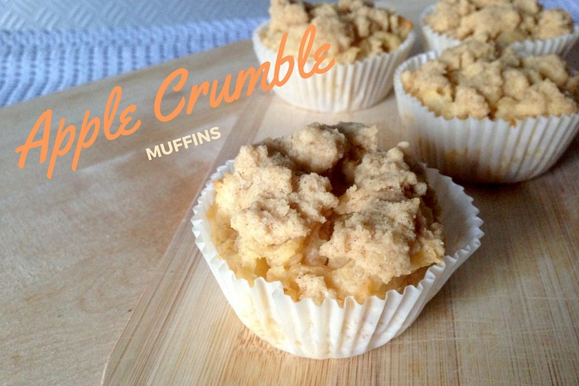 Vegan Glutenfree Apple Crumble Muffins