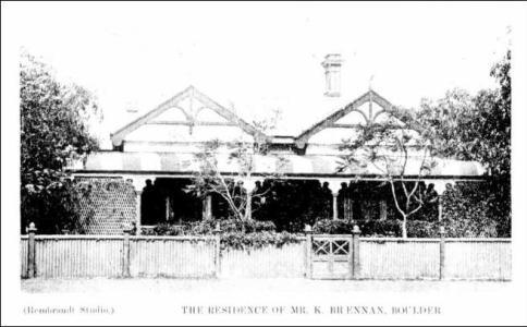 Residence of Kyran Brennan 1903