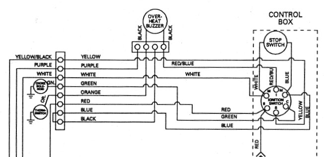 boat ignition wiring diagram switch