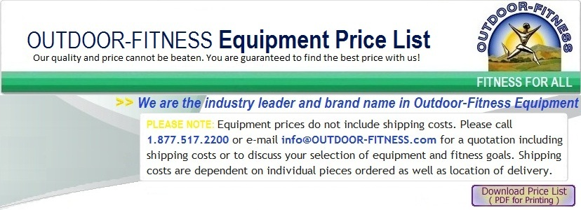 Outdoor Fitness Equipment Price List - mechanical equipments list
