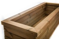 Trough Planters - Outdoor Wooden Furniture - Garden Planter