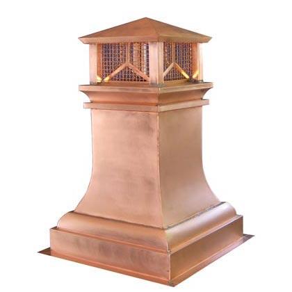 Copper Chimney Pots Custom European Copper Chimney Pots