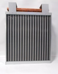 12x18 Water to Air Heat Exchanger Hot Water Coil Outdoor ...