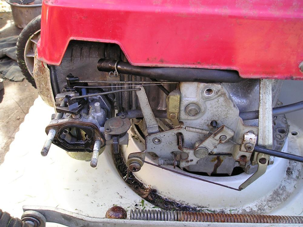 Honda Lawn Mower Carburetor Linkage Diagram Wiring Schematic Diagram