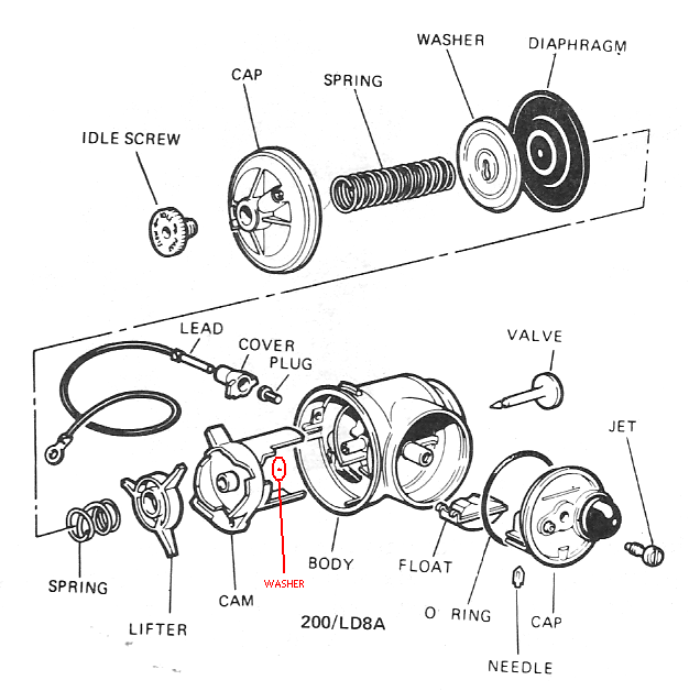 victa 2 stroke engine diagram