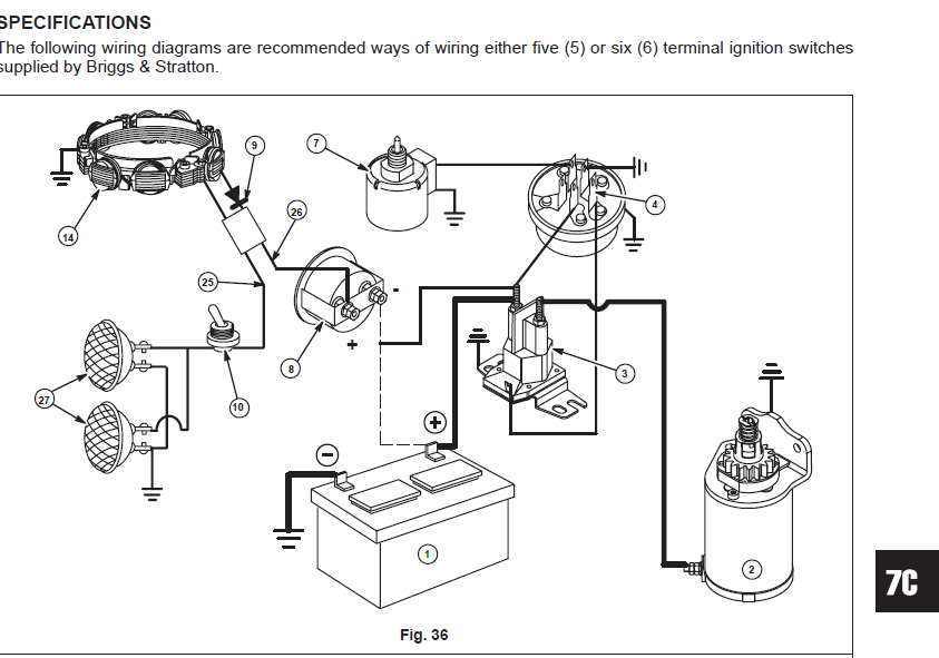 murray 12 hp ignition switch wiring diagram