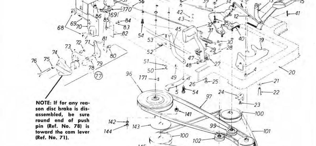 rover brakes diagram