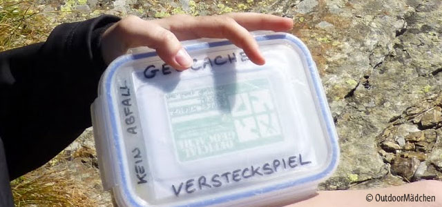 Geocaching ist anders