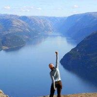 Noch mal schnell zum Preikestolen: Quasi-Trailrunning zur norwegischen Felskanzel