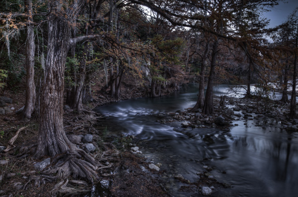 Landscape Photography - The Guadalupe River