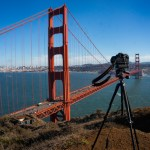 Tripod in Use at the Golden Gate