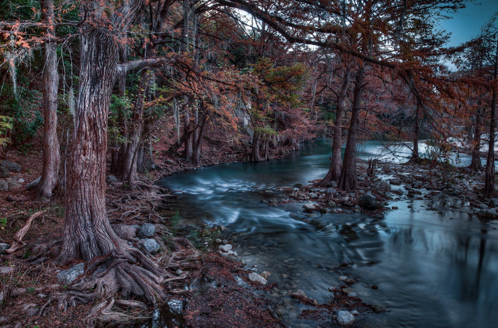 HDR example - Guadalupe River