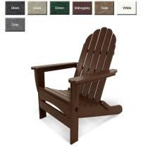 POLYWOOD AD7030 Oversized Curveback Adirondack Chair ...