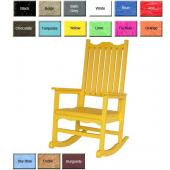 Rockers Rocking Chairs Outdoor Poly Furniture Better Than Wood