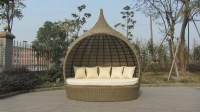 Poolside Outdoor Rattan Daybed
