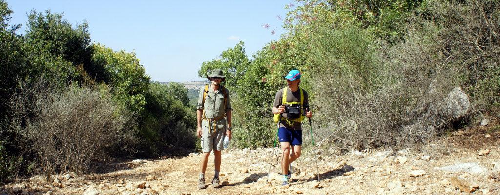 Yam le Yam trail Trip Report (Northern Israel)