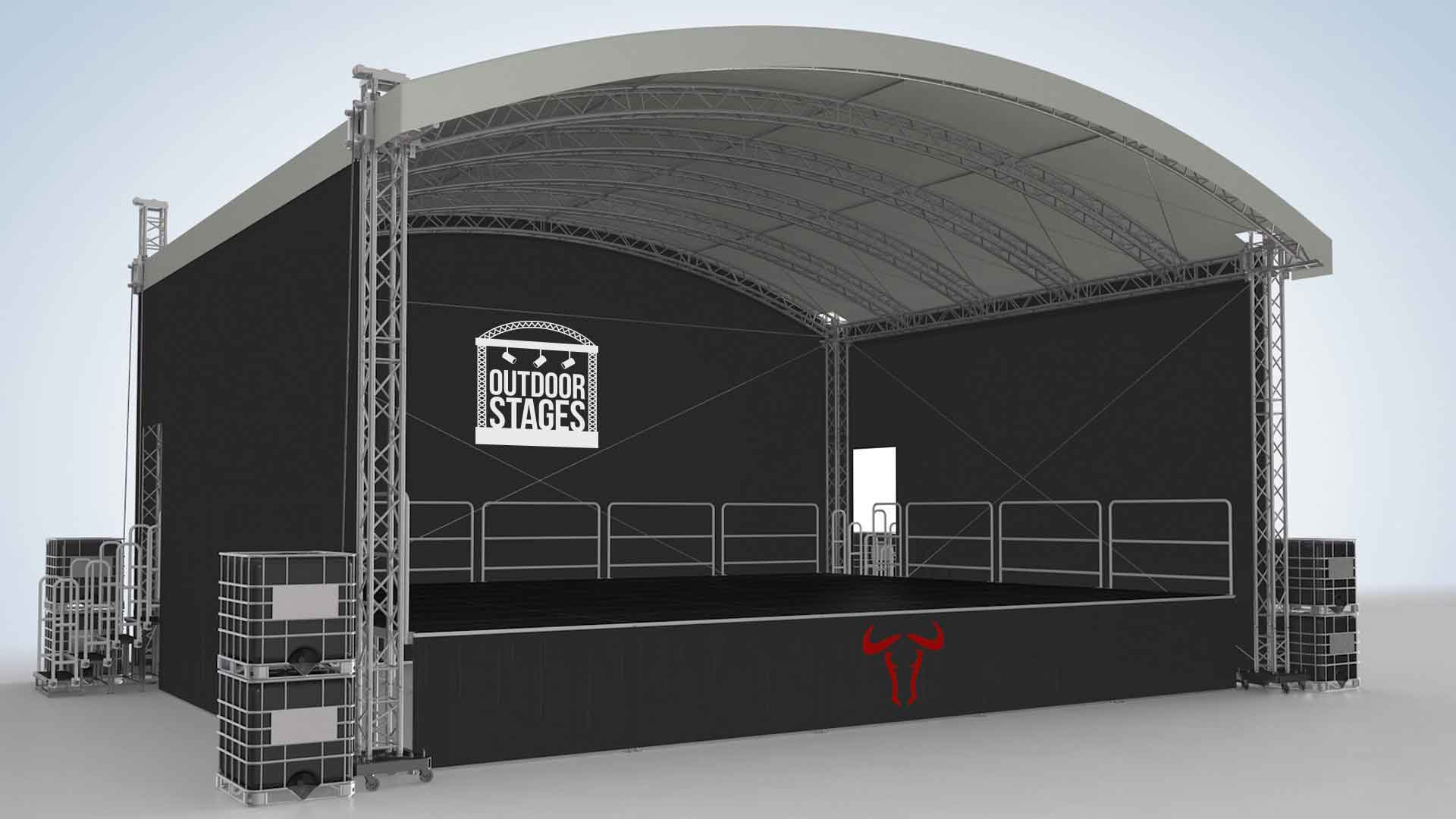 Small Concert Stage Design