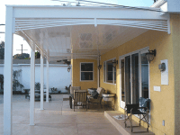 Vinyl Patio Covers, Solid patio covers Los Angeles CA, Buy ...
