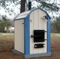 NEW Ad: SHAVER Best Outdoor COAL Burning Furnace Stove ...