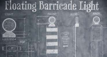 FLOATING BARRICADE LIGHT CBBsc60