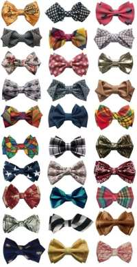 How to Make Bow Tie and 16 Cool Ideas to Wear Bow Tie