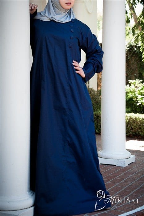 Plus size abaya fashion 14 stylish abaya s for curvy women
