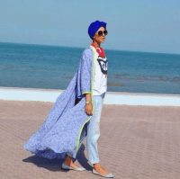 Beach Hijab Outfits34 Modest Beach Dresses for Muslim Girls