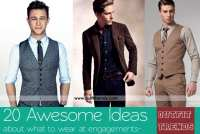 Engagement Outfits for Men-20 Latest Ideas on What to Wear ...