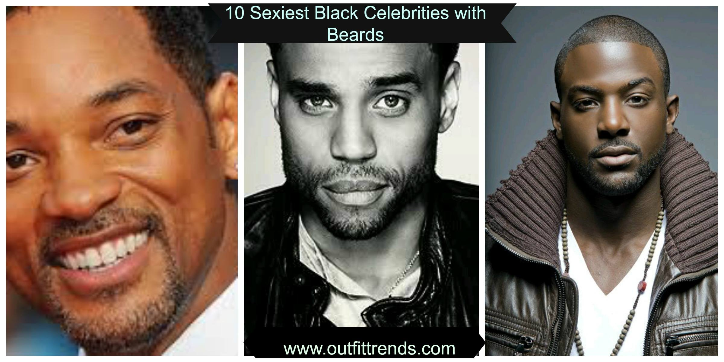 Black Celebrities with Beards-10 Sexiest Black Actors with Beards