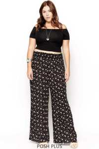 Palazzo Pants for Plus Size24 Palazzo Outfit Ideas for ...