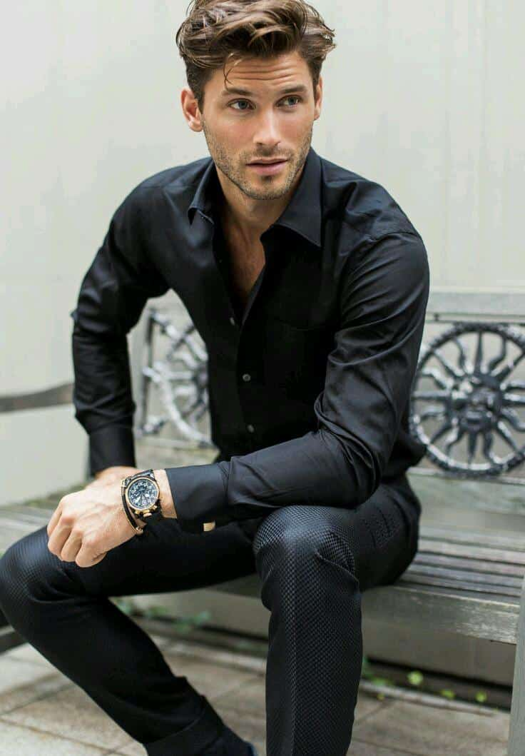 Black Pants Outfits For Men-29 Ideas How To Style Black Pants
