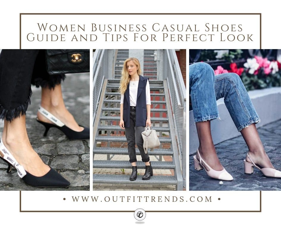 Women Business Casual Shoes Guide And Tips For Perfect Look