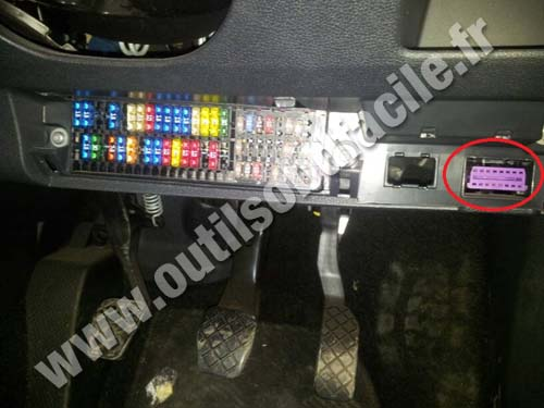 Where Are Fuses And Obd Port In Skoda Fabia 2 Engine And - Auto