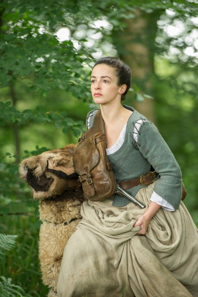 Laura Donnelly (Jenny Fraser Murray)