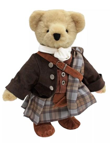 Outlander™ Collectible Bear: JAMIE FRASER