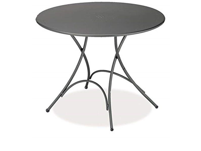 Tavolo Rotondo In Metallo Pigalle Emu In Offerta Outlet