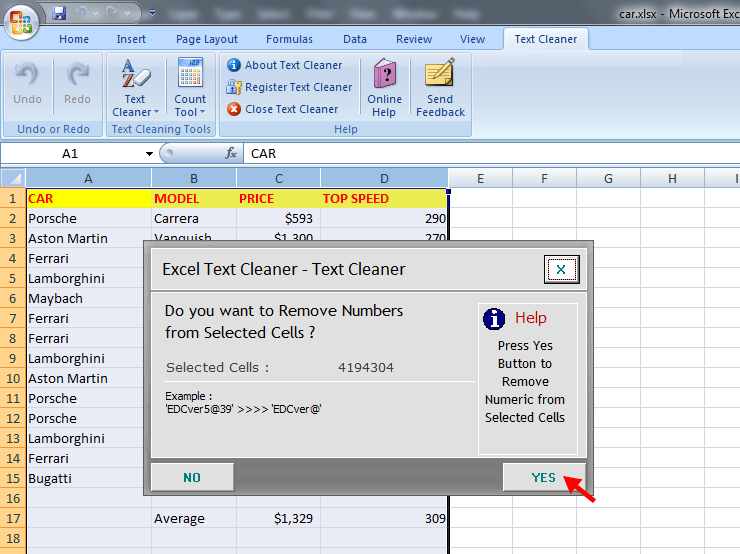 online text cleaner