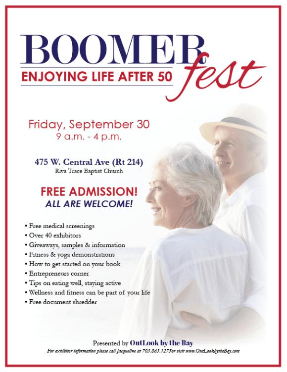 Boomer fest 2016 flyer