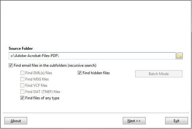 Convert PDF to Outlook with Outlook Converter Outlook Converter