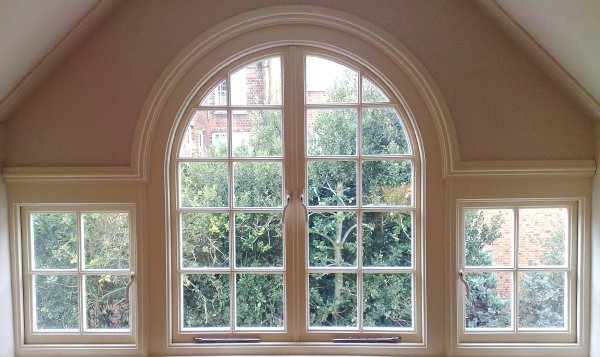 small bow window