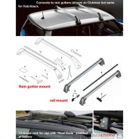 MINI Cooper R55 Clubman Bike RAck Roof Rack Rails - MINI ...