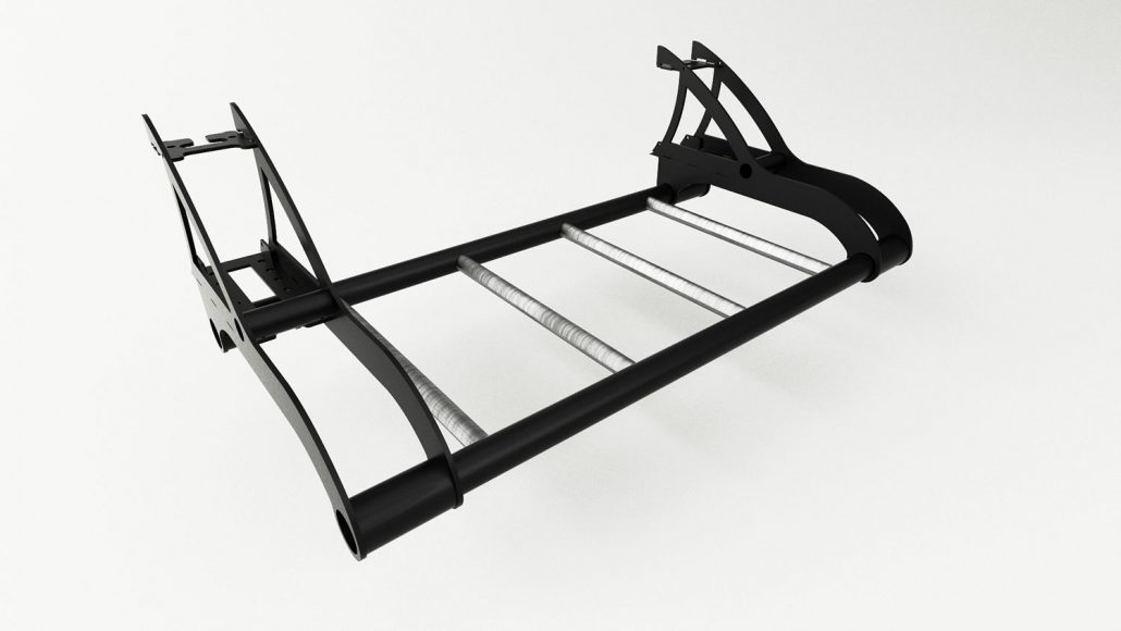 Side Sky Gym Ladder Outrace Fitness